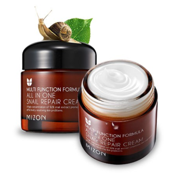 mizon all in one snail repair korean skin care