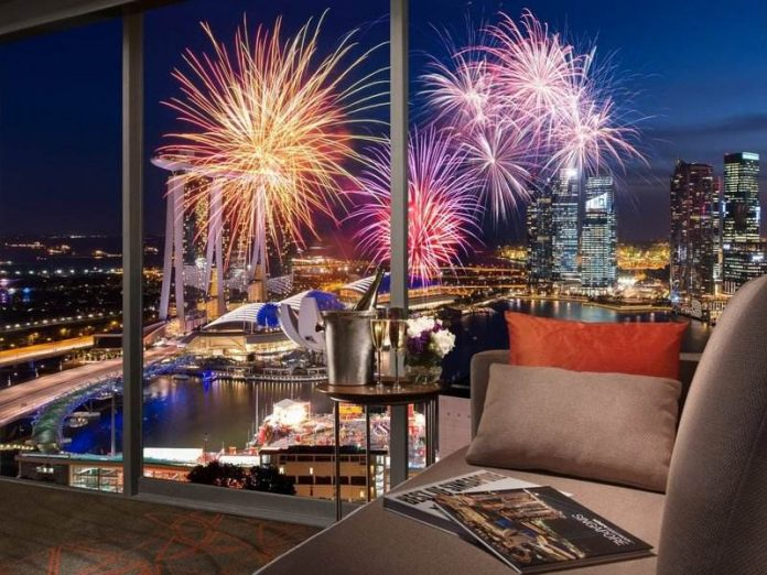 pan pacific new year fireworks singapore