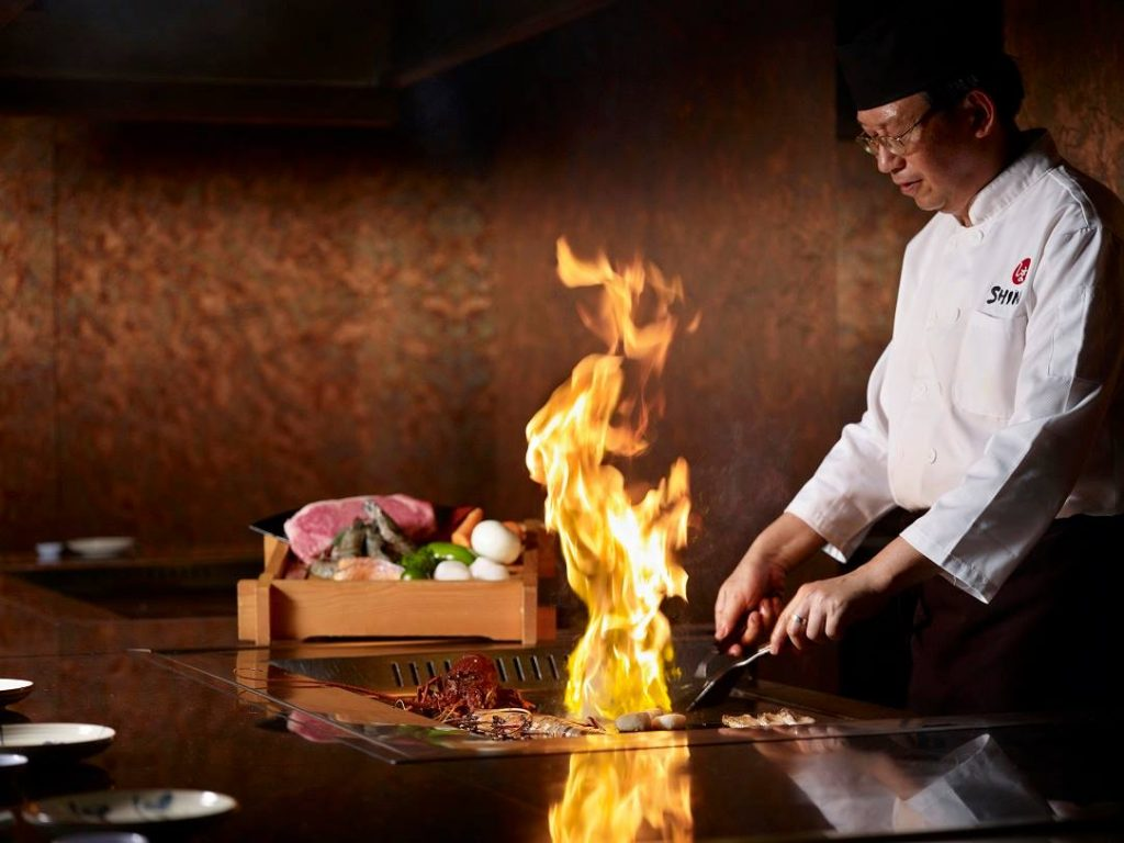 shima restaurant first teppanyaki in Singapore