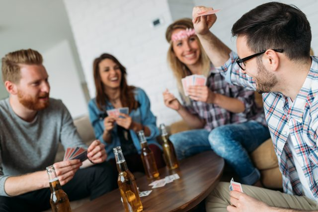 party games for adults drinking card games