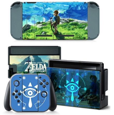 nintendo switch accessories skins