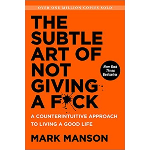 the subtle art of not giving a fuck must-read book