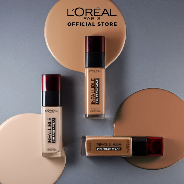 loreal infallible fresh wear liquid foundation best foundation for asian skin
