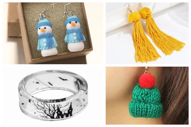 festive holiday theme handmade jewellery singapore
