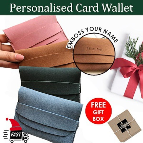 best valentine's day gifts korean customisable namecard holder