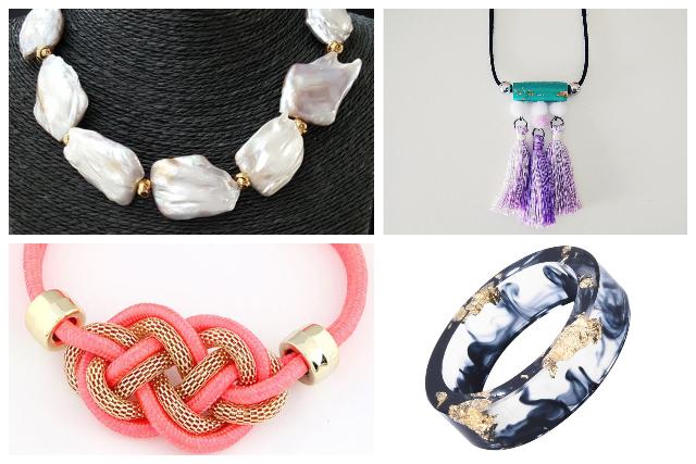 high quality pearl gold foil handmade jewellery singapore
