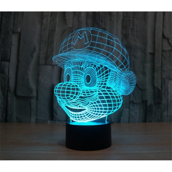 cute gifts vday super mario bros 3d night light