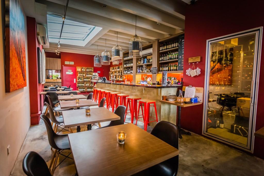 Praelum Wine Bar Best wine bars in Singapore for vino lovers