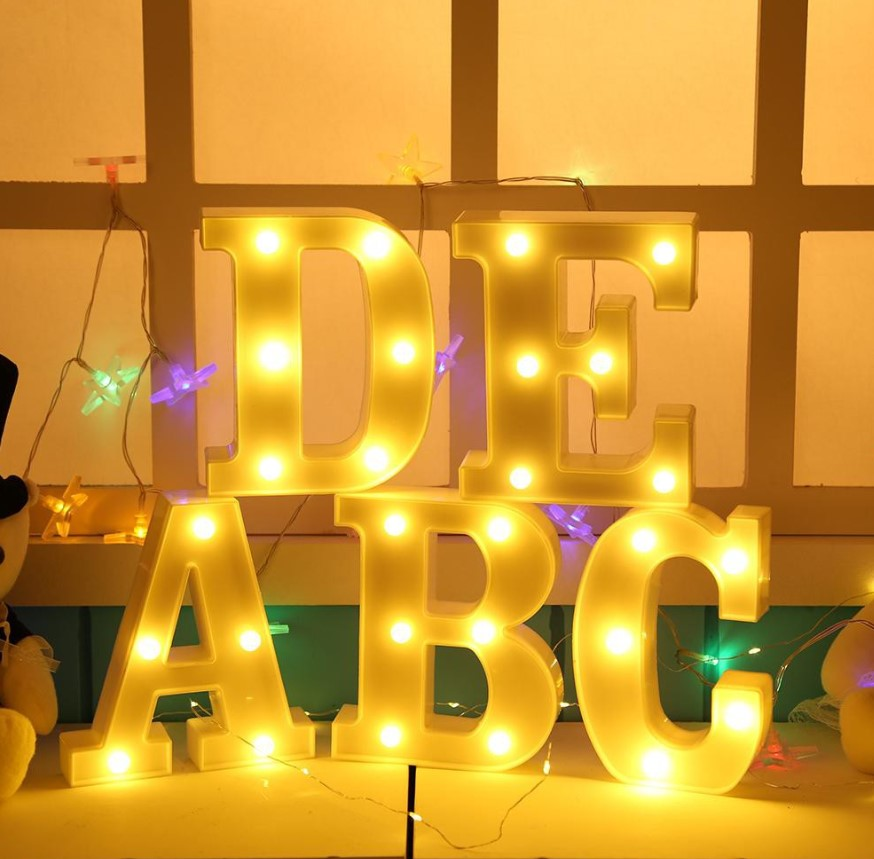 Alphabet Lights