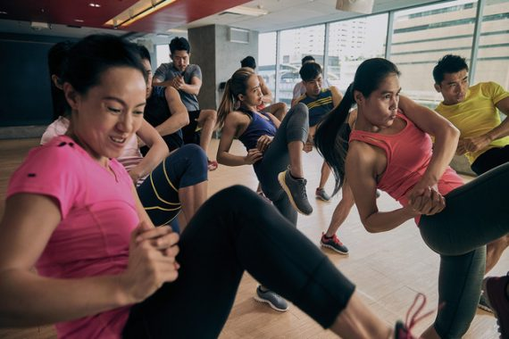 best kickboxing classes in singapore featured
