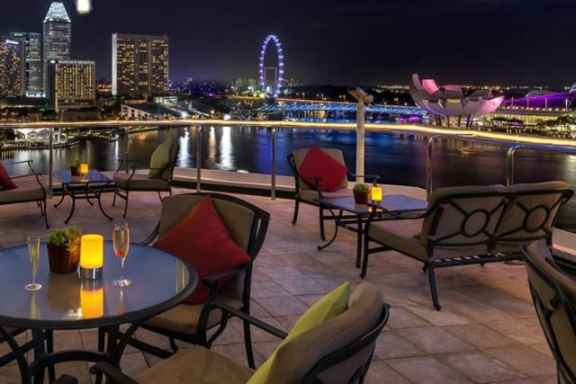 best rooftop restaurants Singapore The Lighthouse Fullerton Hotel