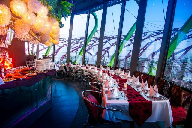 best rooftop restaurants singapore supertree by indochine gardens by the bay