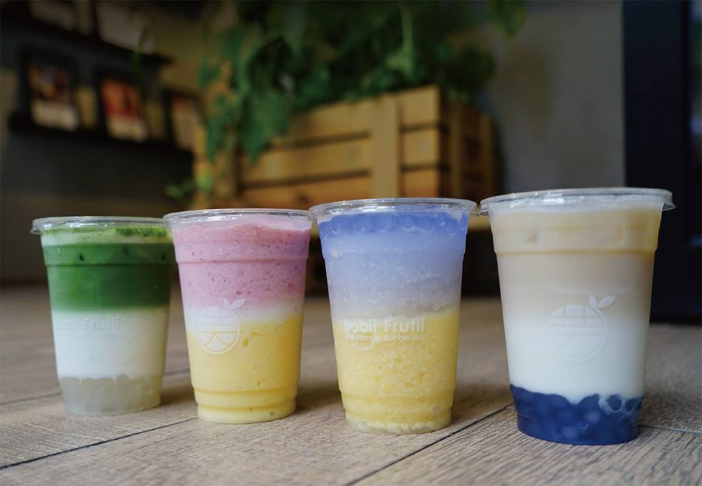 bobii frutii range best bubble tea in singapore