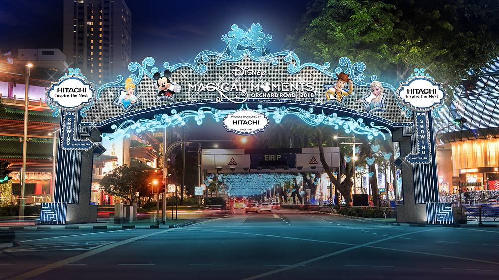 Disney Magical Moments on Orchard Road