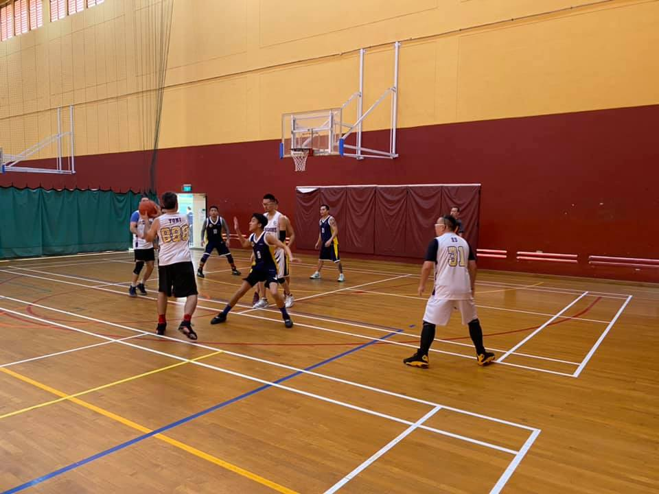 evans sports hall indoor basketball courts singapore