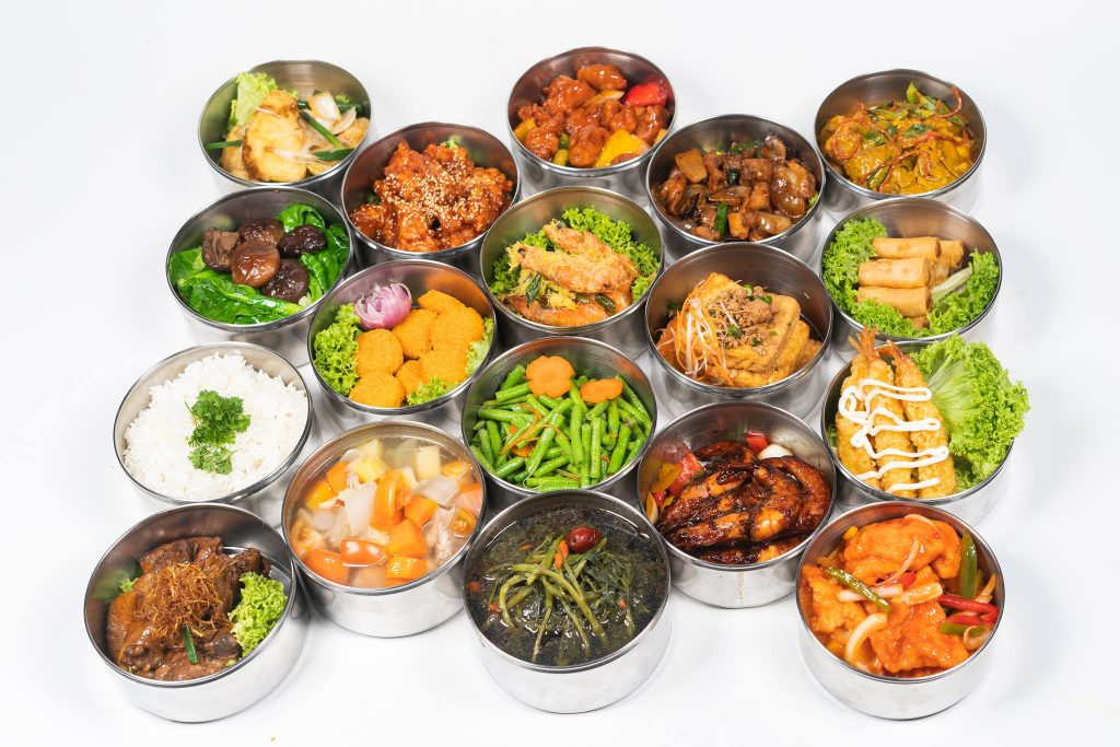 healthy tingkat delivery singapore le xin catering