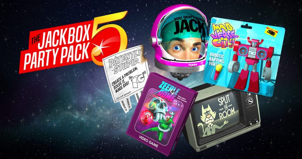 jackbox party pack video game party games for kids