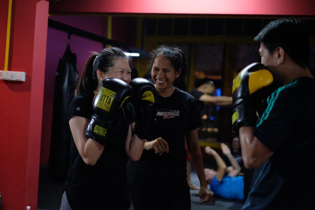 juggernaut studio best kickboxing class in singapore