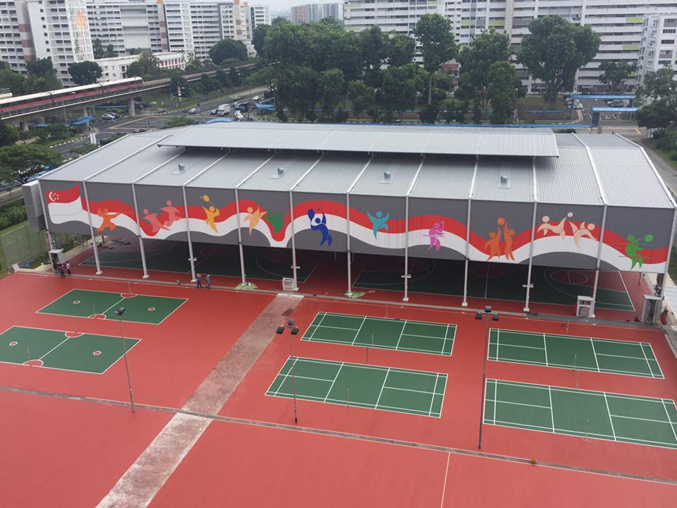 khatib mpc indoor basketball courts in Singapore