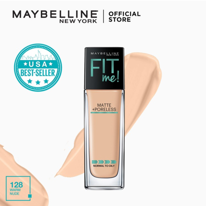 maybelline fit me best foundation for asian skin