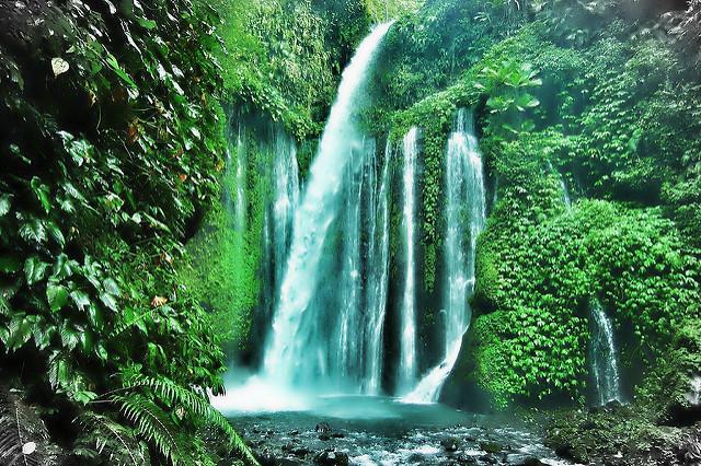 mount rinjani waterfalls short getaway from singapore
