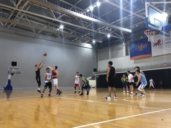 ocbc arena indoor basketball courts singapore