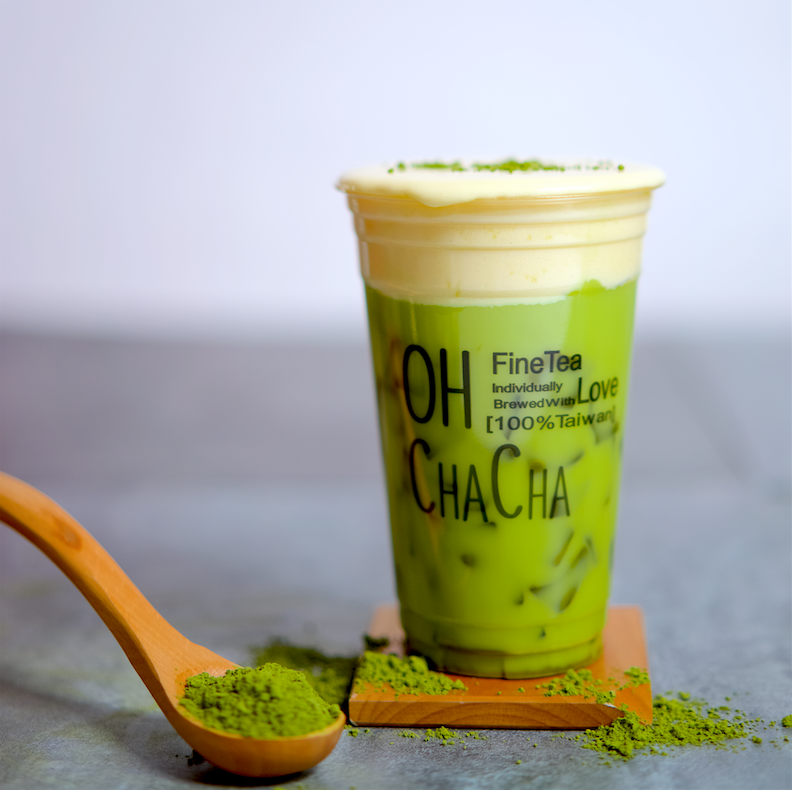 matcha tofu latte best bubble tea in singapore oh cha cha