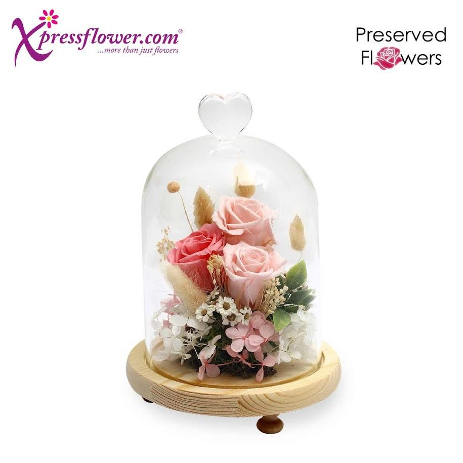 preserved flowers dome flower delivery singapore