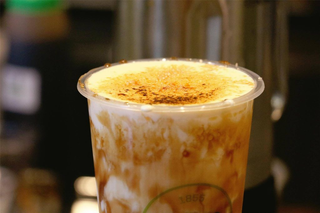 r&b tea creme brulee glaze best bubble tea in Singapore