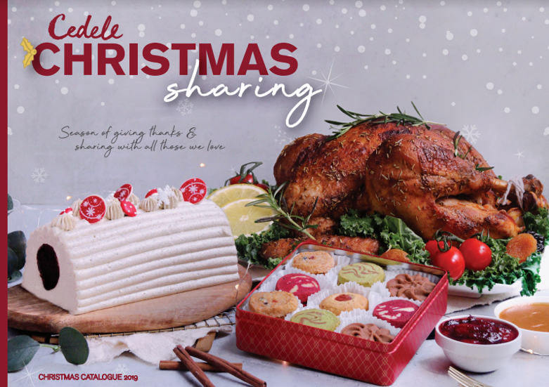 cedele christmas takeaway menu affordable christmas dinner singapore
