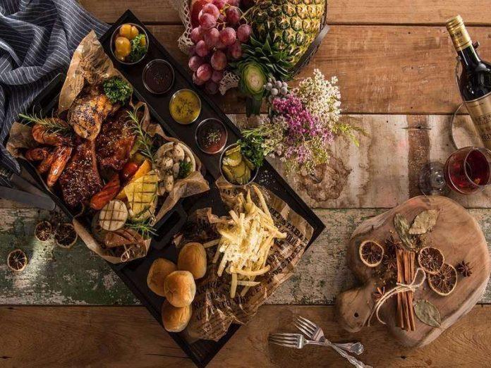 affordable christmas dinner singapore platter