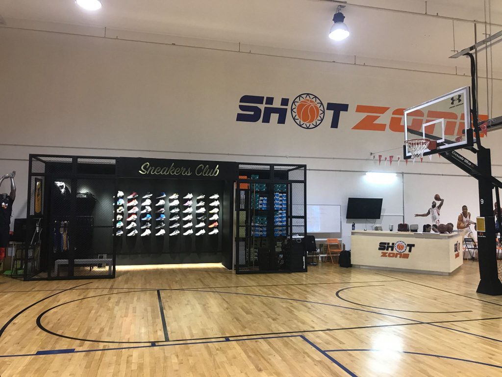 shot zone training facilities indoor basketball courts in Singapore