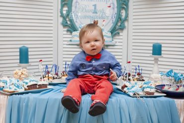 baby boy cake kids birthday party ideas