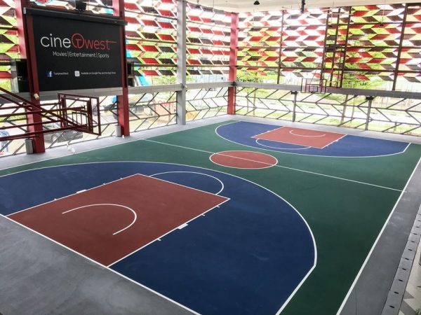 tampines west cc indoor basketball courts singapore
