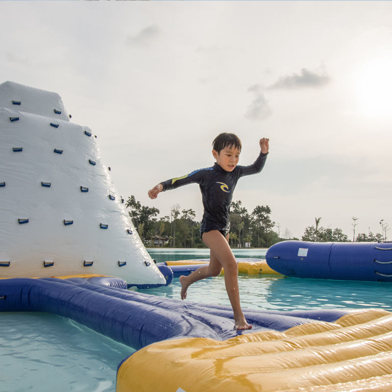 the canopi water sports kids short getaway from singapore