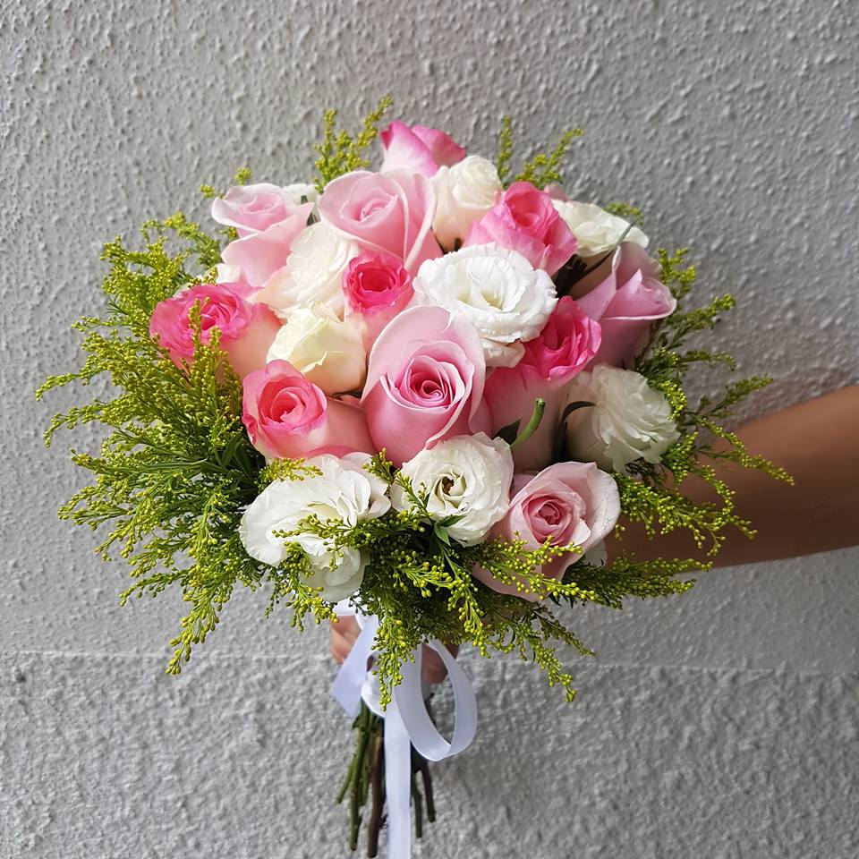 wedding bouquet craftway floral flower delivery singapore