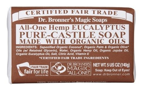 dr bronners pure castile eucalyptus bar soap singapore handmade