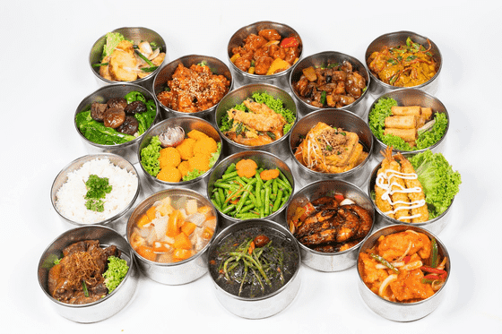 Lexin catering healthy tingkat delivery