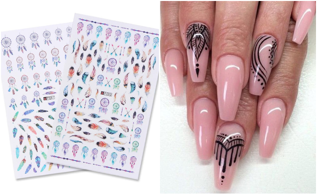 nail art water decal nail art design singapore