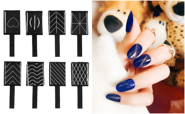 cat eye magnetic nail stick nail art design singapore
