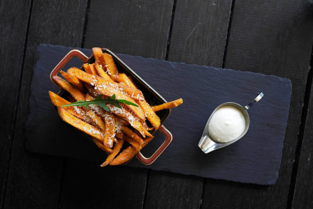 best truffle sweet potato fries in singapore