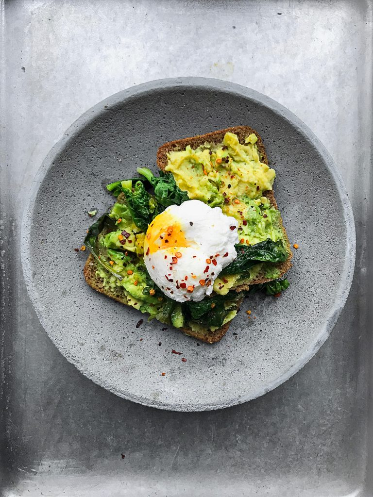 breakfast ideas for the working mother avocado toast