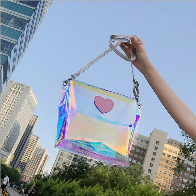Transparent Mini Sling Bag