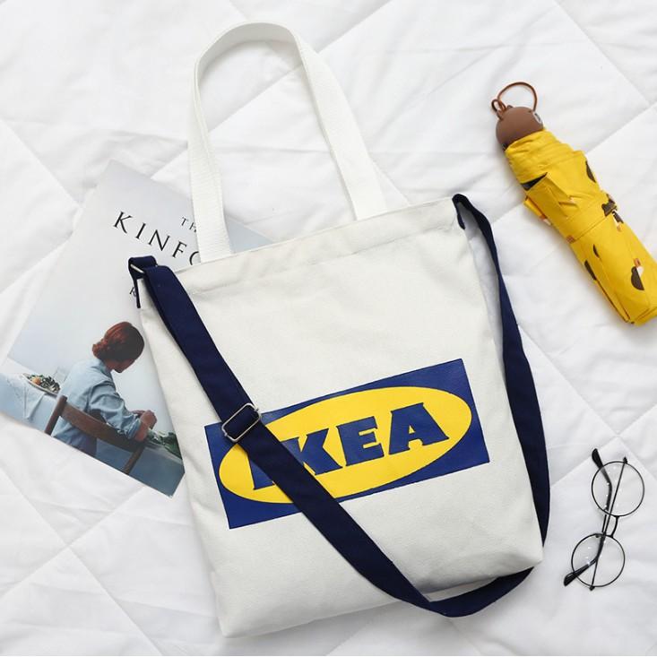 IKEA Canvas Fashion Women Shoulder Bag
