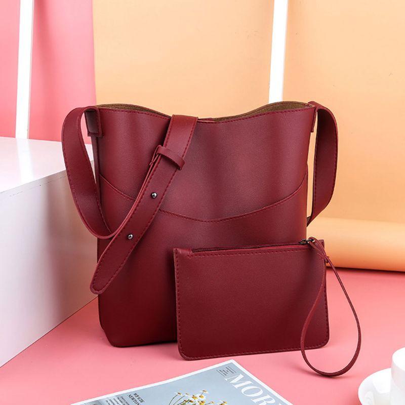 2 piece women's shoulder bag