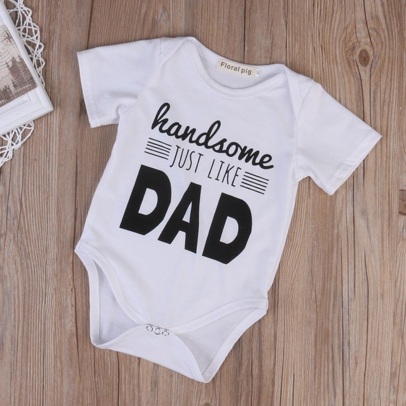 Handsome like dad