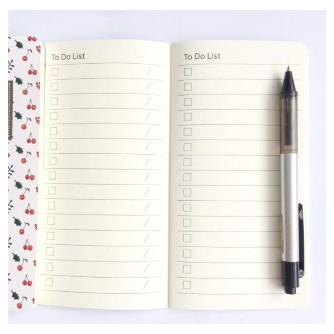 to do list planner 2019