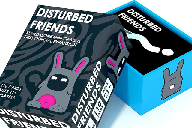 best adult card games disturbed friends