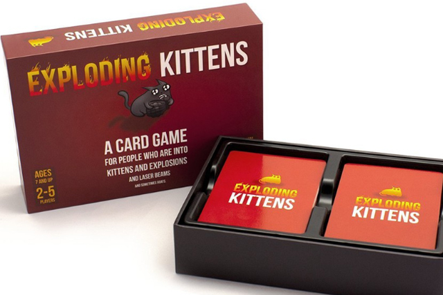 best adult card games exploding kittens