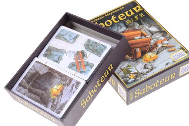 best adult card games saboteur